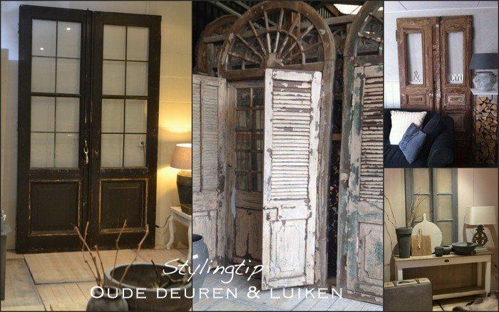 oude deuren en luiken