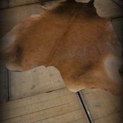 Koeienhuid bruin bont  No. 1