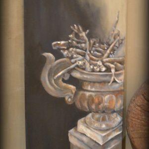 Schilderij Pot