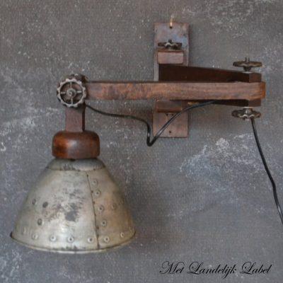 Landelijke lampen en verlichting shop je bij met landelijk for Stoere industriele wandlampen