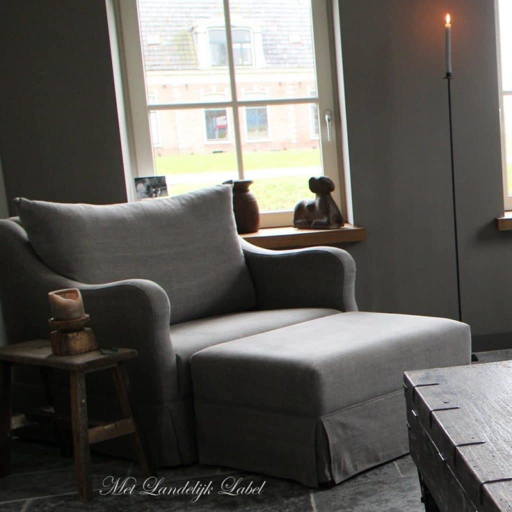 Robuuste Meubels - Stoere landelijke fauteuil