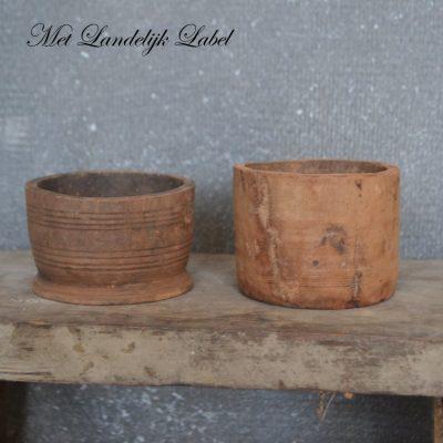 Mini houten bakje
