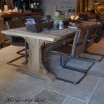 Landelijke meubels showroom van Met Landelijk Label - De RAW Stones koffiehoek!
