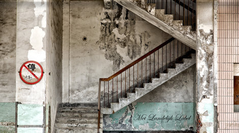 Wandkleed Concrete Stairs