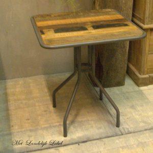 Bistro tafeltje Woodie brown
