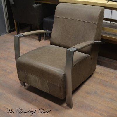 Sale leren fauteuil