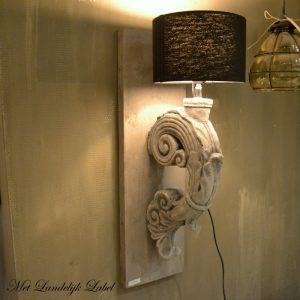 Wandlamp ornament