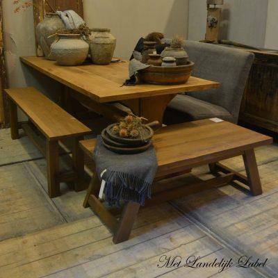 SALE set prijs 3 eiken meubelen