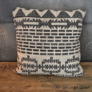 Kussen Batik Charcoal