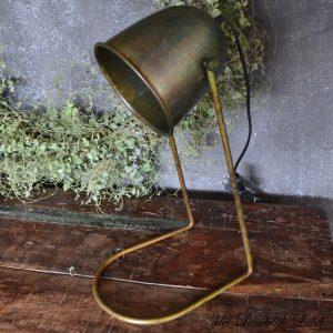 Bureaulamp roestgroen