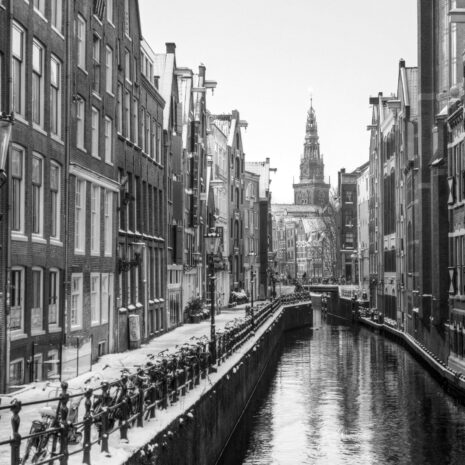 Amsterdam Oudezijds Kolk BW