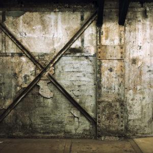 Industriële muur
