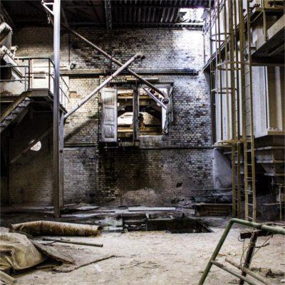 Oude fabriekshal